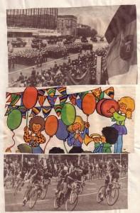 Wandzeitung 29 Jahre DDR 2