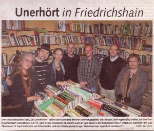 Berliner Abendblatt Die Unerhörten-klein