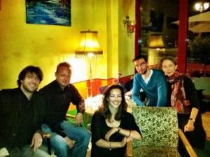 Lesung Tasso Okt. 2011 mit Barbara und Marco