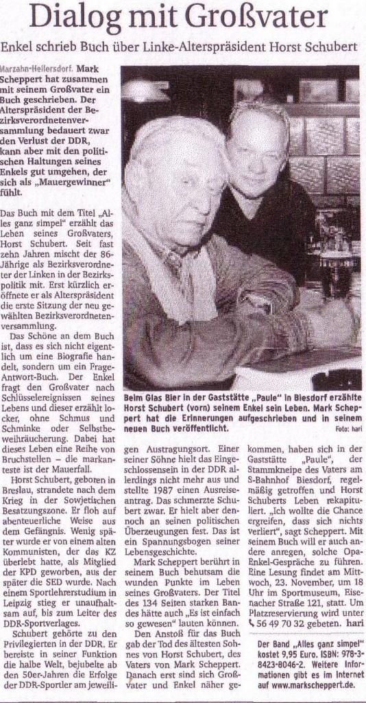Berliner Woche 9.11.2011