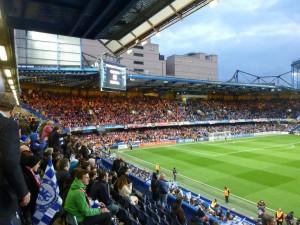 Stadion voll