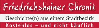 Friedrichshainer Chronik