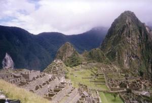 Machu Picchu oben