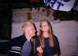 2000 Chile Julia und ich