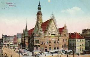 postkarte rathaus