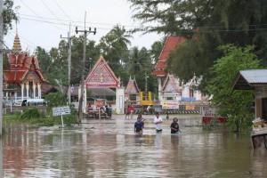 Landunter im Dorf